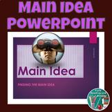 Main Idea PowerPoint - Distance Learning