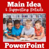 Main Idea | 1st 2nd 3rd Grade | PowerPoint | Main Idea and