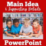 Main Idea Power Point | Main Idea PowerPoint | Main Idea G