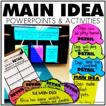 Main Idea PowerPoints and Activities