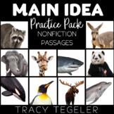 Main Idea Practice Pack {Nonfiction Passages}