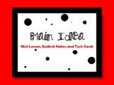 Main Idea Mini Lessons or Task Cards