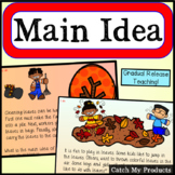 Main Idea Passages  -  Primary Lesson for PROMETHEAN Board Software