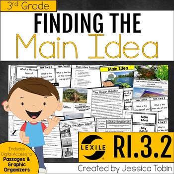 Main Idea and Supporting Details Passages and Lessons RI3.2