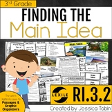 Main Idea and Details 3rd Grade RI.3.2 with Digital Learni
