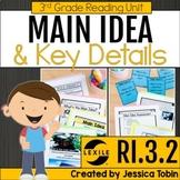 Main Idea and Details 3rd Grade RI.3.2 with Digital Learni