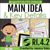 Main Idea and Details 4th Grade RI.4.2 with Digital Learning Links - RI4.2