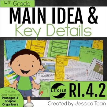 Main Idea RI4.2, Main Idea in Informational Texts
