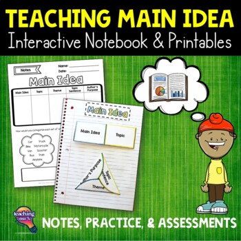 Main Idea Reading Strategy Unit: Notes, Practice, & Assessment
