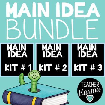 Main Idea Resource BUNDLE - Improve Reading Comprehension