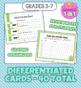 Main Idea Review Cards