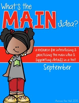 Main Idea September