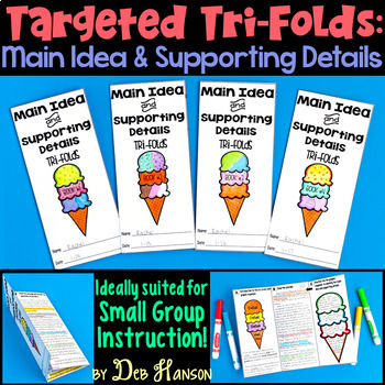 Main Idea Small Group Instruction: Four Targeted Tri-folds