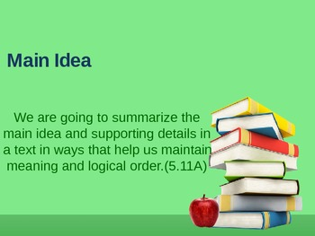 Main Idea-Step by Step