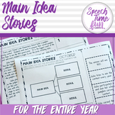 Main Idea Stories For The Year