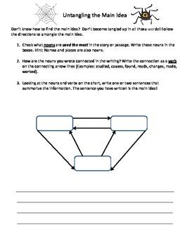 Main Idea - Strategies