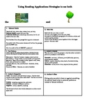 Main Idea Strategy Handout:   See Both the Forest and the Trees!