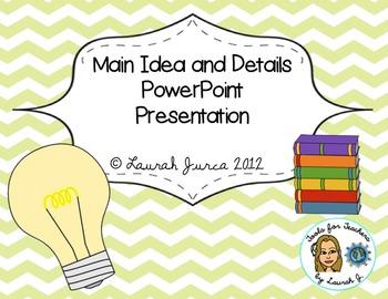 Main Idea & Summarizing Presentation