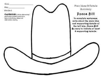 Main Idea Summary: Pecos Bill