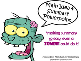 Main Idea & Summary Powerpoint