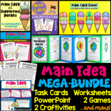 Main Idea Bundle (4th, 5th, and 6th grade)