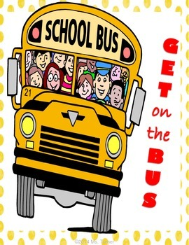 Main Idea, Supporting Details: Creative Writing Activity {Get on the Bus!}