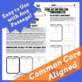 Main Idea & Supporting Details Graphic Organizer Worksheet