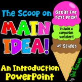 Main Idea Editable PowerPoint (plus a companion handout!)