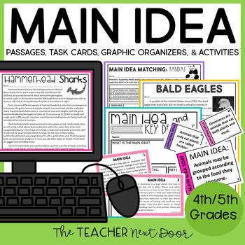 Main Idea Reading Passages 1st Grade Teaching Resources | Teachers ...