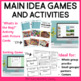 Main Idea | Main Idea Activity for 4th and 5th Grades