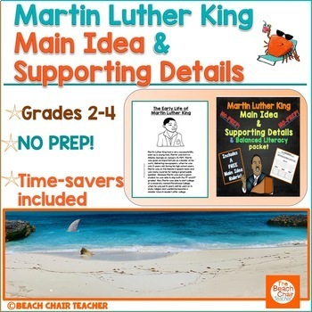 Martin Luther King and Main Idea & Supporting Details