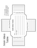 Main Idea Table
