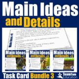 Main Idea Task Card Bundle 3