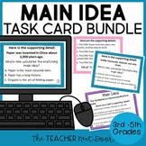 Main Idea Task Card Bundle