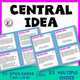Central Idea Task Cards
