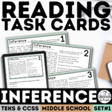 Inference Task Cards | PDF & Digital | Distance Learning