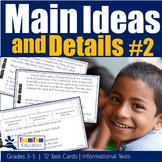 Main Idea Task Cards 2