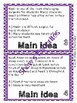 Main Idea Task Cards {2nd-3rd Grade}
