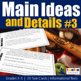 Main Idea Task Cards Nonfiction