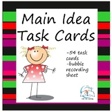 Main Idea Task Cards