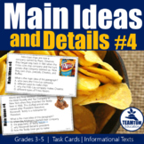 Main Idea Task Cards 4 (Informational Texts)