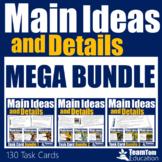 Main Idea Task Cards Mega Bundle (Grades 3-5)