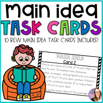 Main Idea - Non Fiction Task Cards