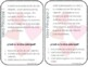 Main Idea Task Cards and Graphic Organizer Spanish Valentines Day theme