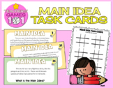 Main Idea Task Cards [with Bonus Activity]