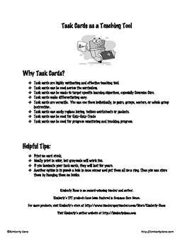 Main Idea Teach and Reach Bundle