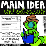 Main Idea & Supporting Details Introduction Lesson