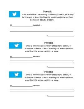 Main Idea Tweets
