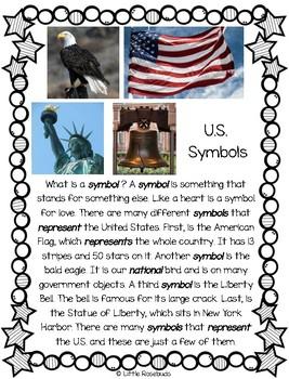 Main Idea U.S. Symbols 1.3 ~ Leveled