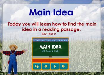 Main Idea UNIT Flipchart